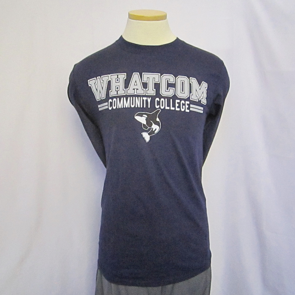 Long Sleeve Navy Tee