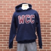WCC Hooded Sweatshirt w/ Twill Letters - Navy thumbnail