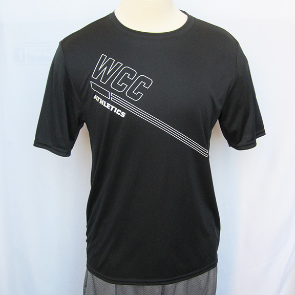 WCC Athletics shirt - crew