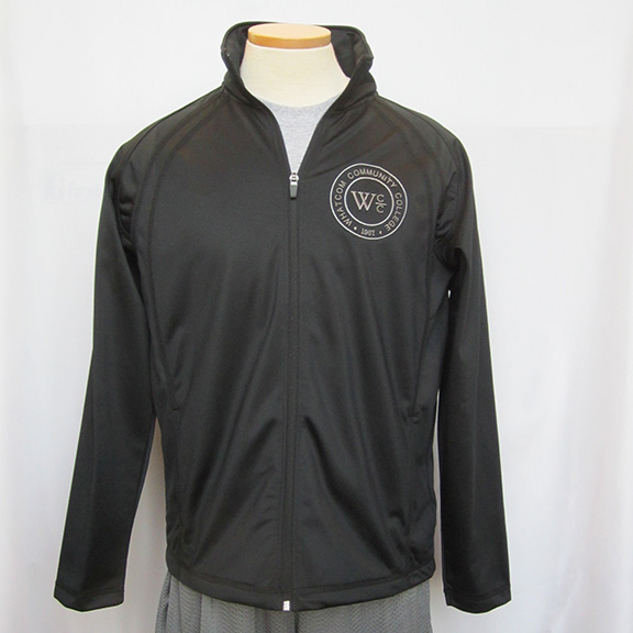 Track Jacket with Whatcom seal